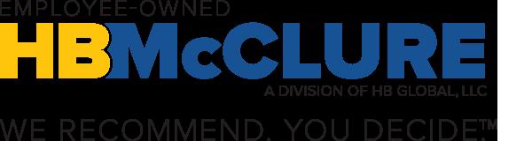 HB McClure logo