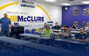 Culture meeting at HB McClure