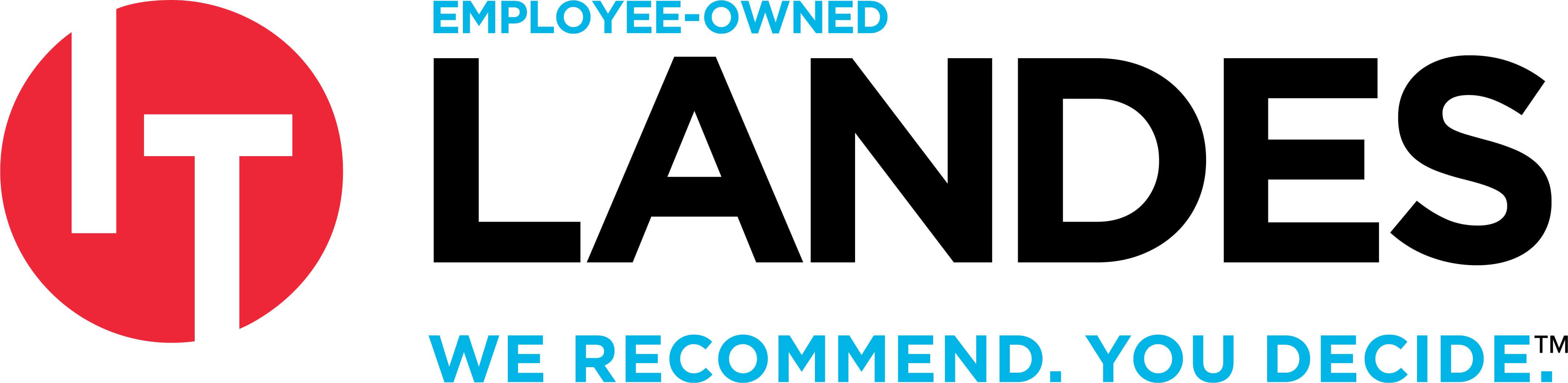 IT Landes We recommend. You Decide. Logo