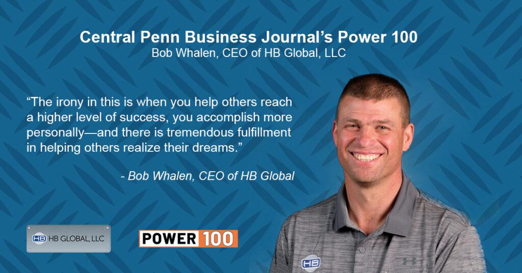 Power 100 Bob Whalen