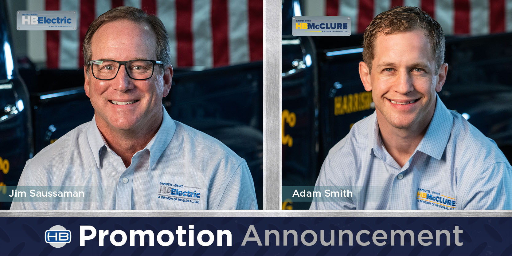 Adam Smith and Jim Saussaman HB Electric and HB McClure